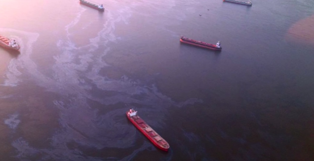 Vancouver 2015 oil spill