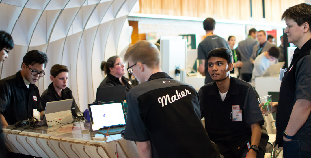 Secondary students explore next-level tech with Microsoft Vancouver