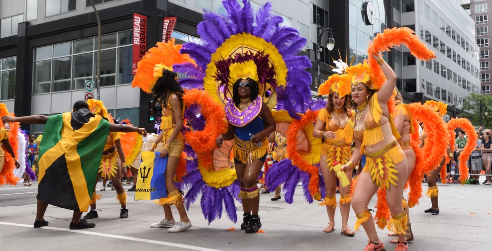 A Caribbean festival is taking over Sainte Catherine Street this summer