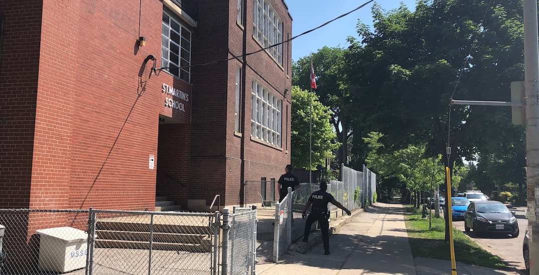 3 arrested after lockdown at Cabbagetown school Tuesday morning