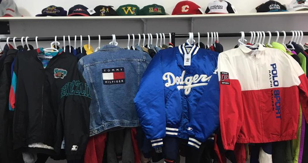 sale retailer b697c cc67a You can shop for 80s and 90s vintage streetwear at this epic ...