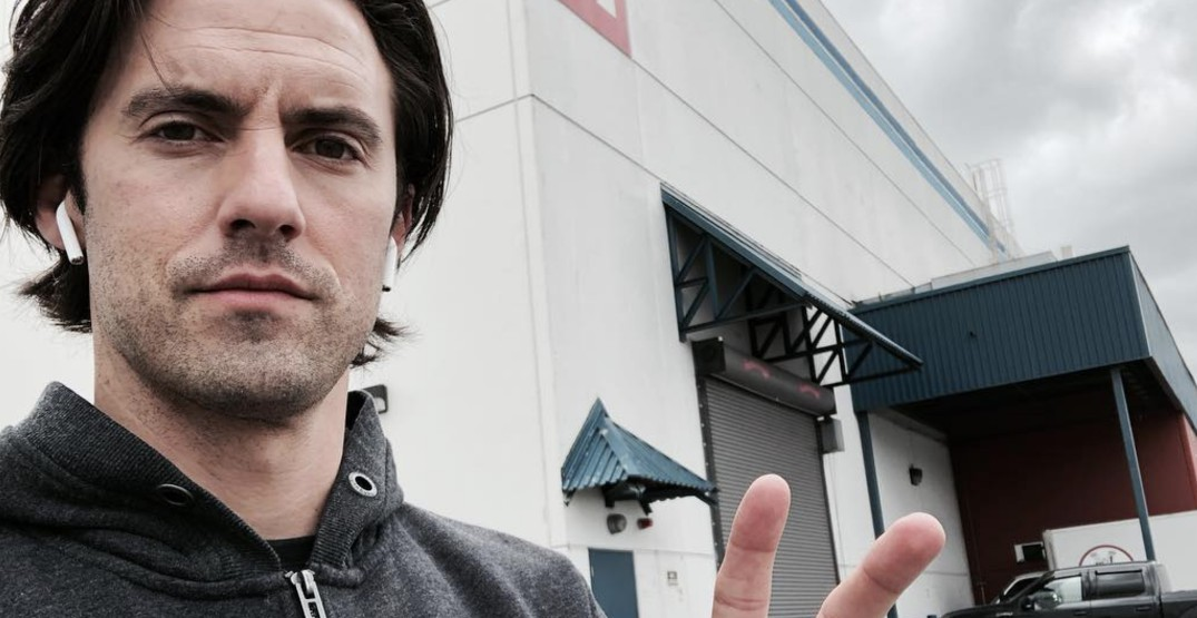 'This is Us' star Milo Ventimiglia is back in Vancouver (PHOTOS)