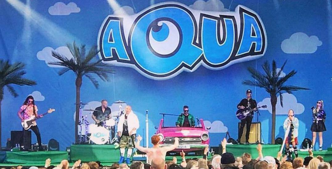 AQUA coming to GTA this summer for '90s-themed concert tour