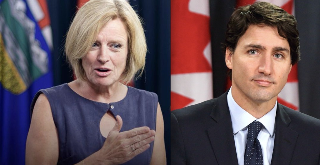Trudeau speaks with Rachel Notley following federal pipeline purchase