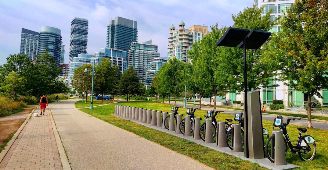 You can use Bike Share Toronto for FREE in June