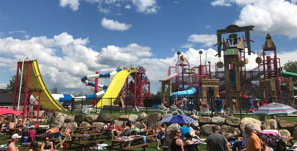 This incredible amusement and water park opens this summer outside Montreal