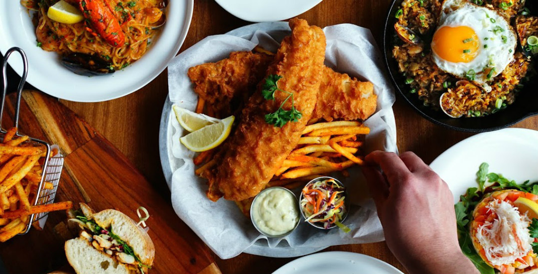 This Vancouver eatery's lunch menu is a seafood lover's dream