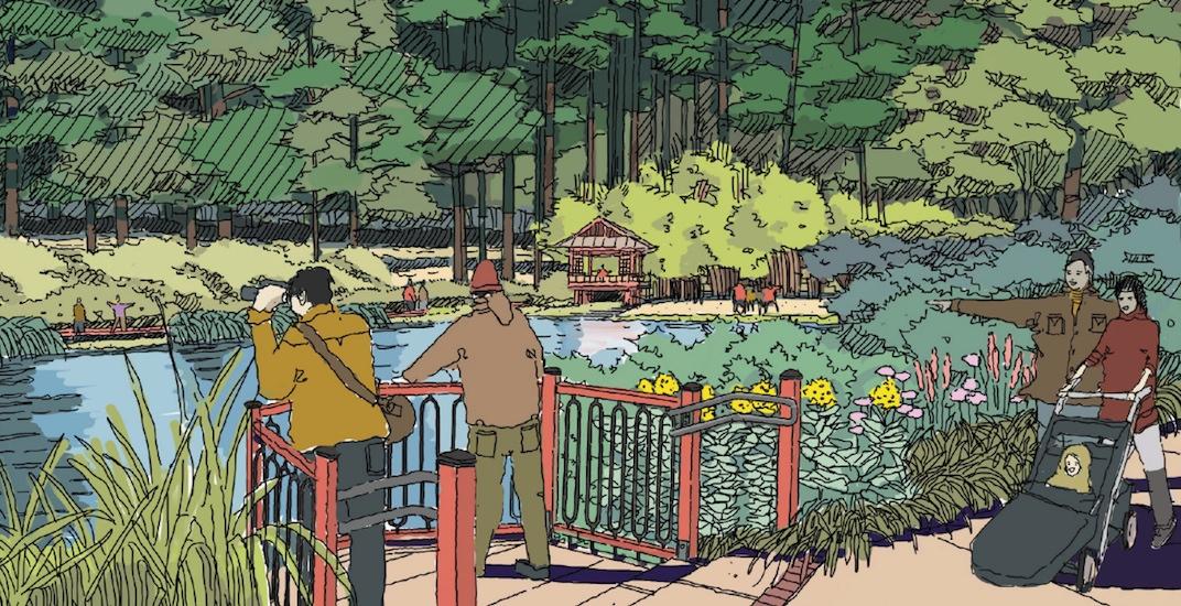 Surrey glades garden park