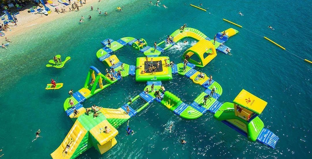 This floating obstacle course opens for the summer on June 19 in Montreal
