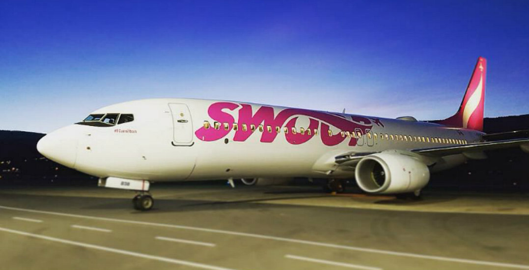 Win a round-trip flight to Canada's largest shopping mall courtesy of Swoop