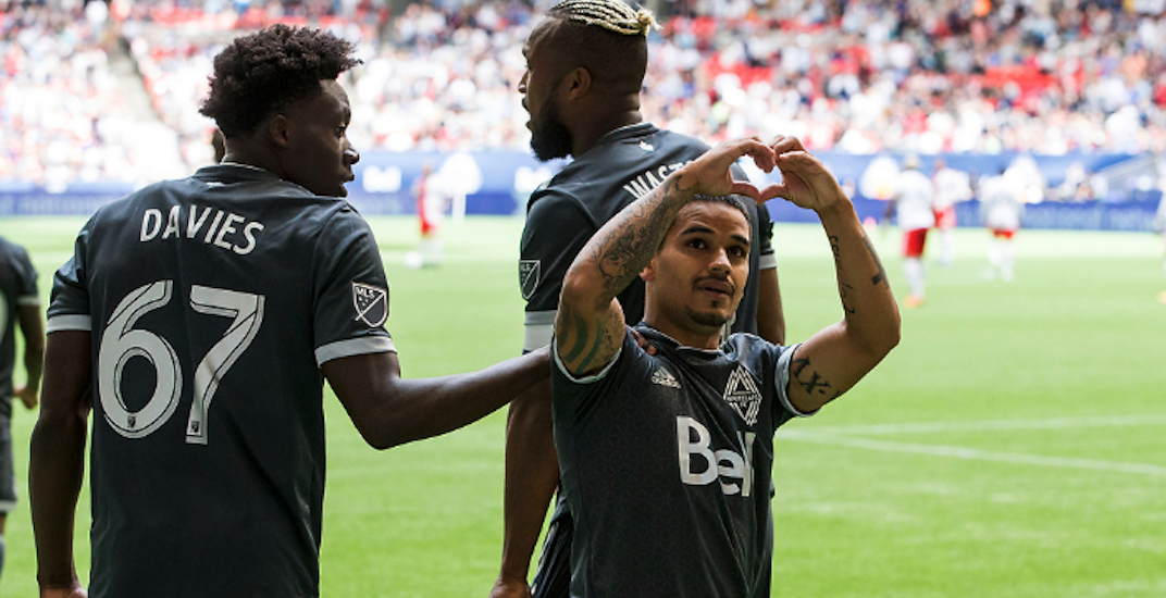 Support Whitecaps FC's #BuckUp for Mental Health campaign to win WestJet roundtrip flights
