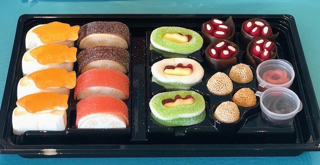 Here's where you can get candy sushi bento boxes in Vancouver