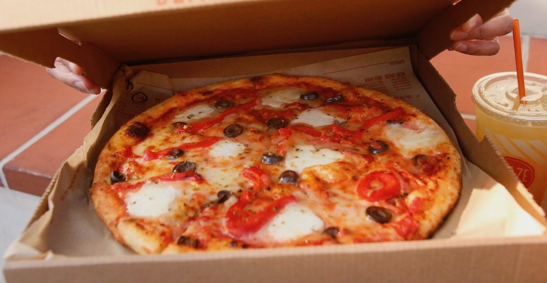 Where to get FREE pizza tomorrow in Metro Vancouver