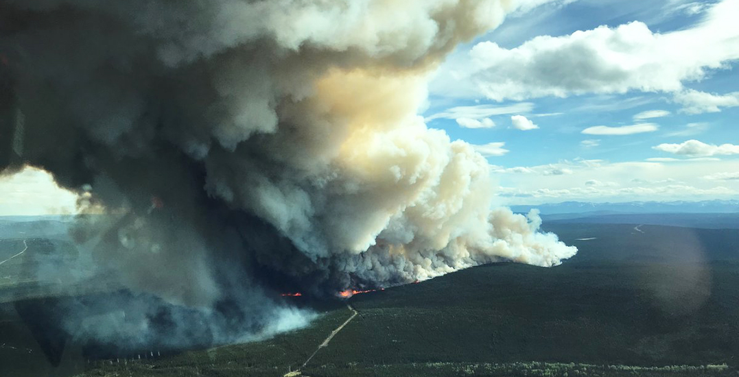 There's a wildfire in BC that's twice the size of Vancouver