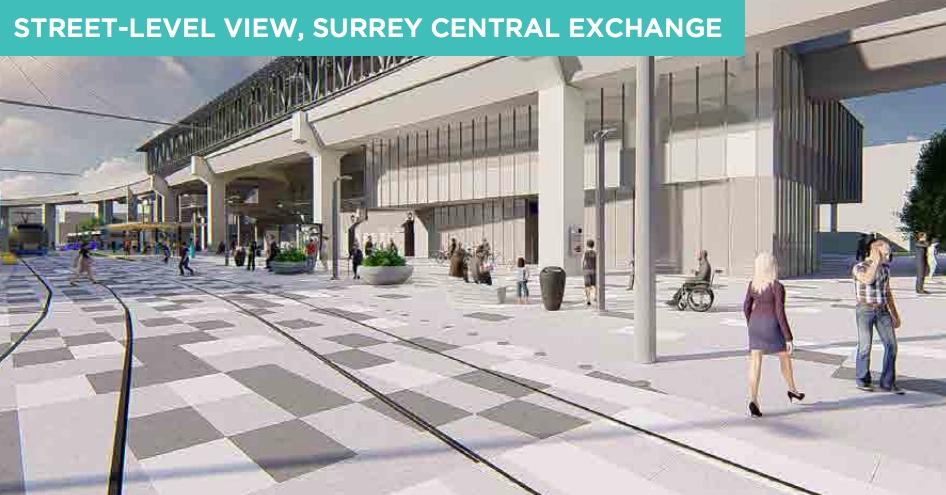 Surrey Newton-Guildford LRT