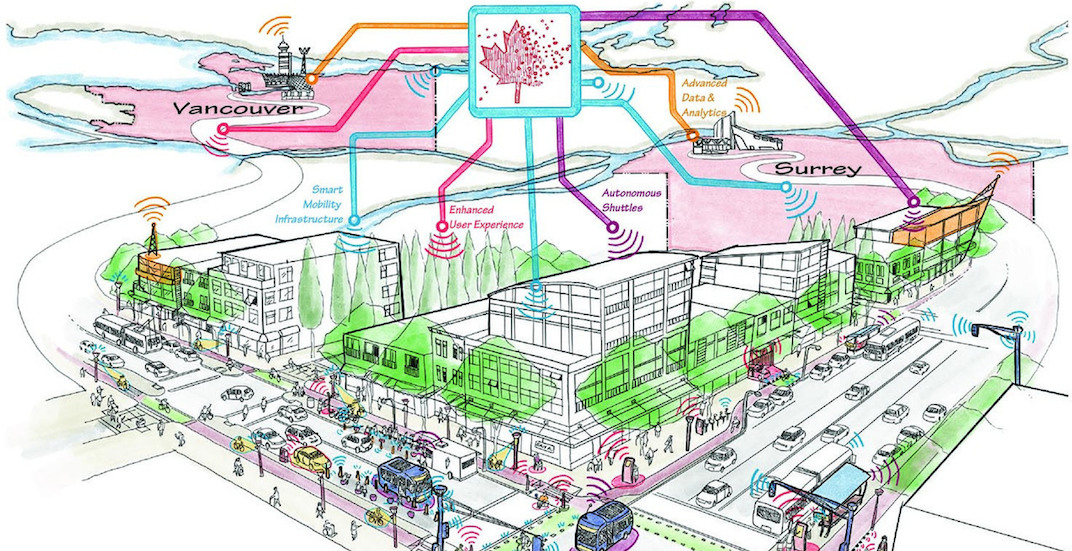 Vancouver and Surrey shortlisted for funding to build driverless car roads