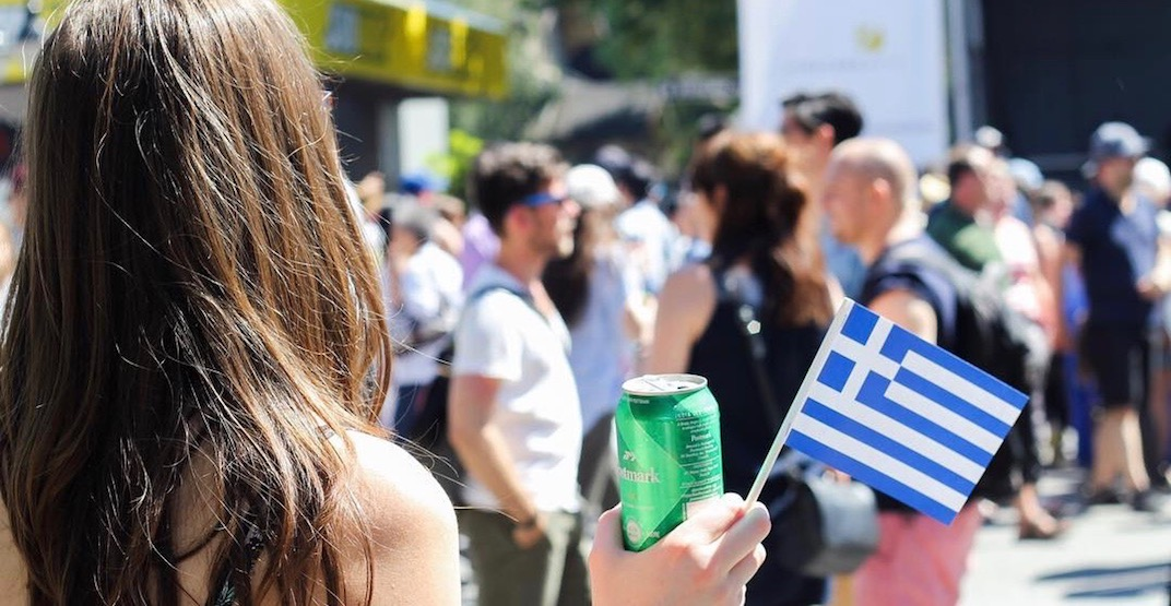 Vancouver's massive Greek Day festival returns to Broadway this month