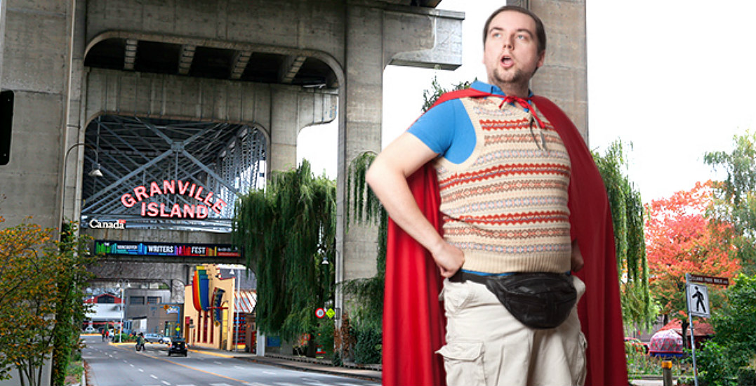 The superdad show at granville islandvtsl