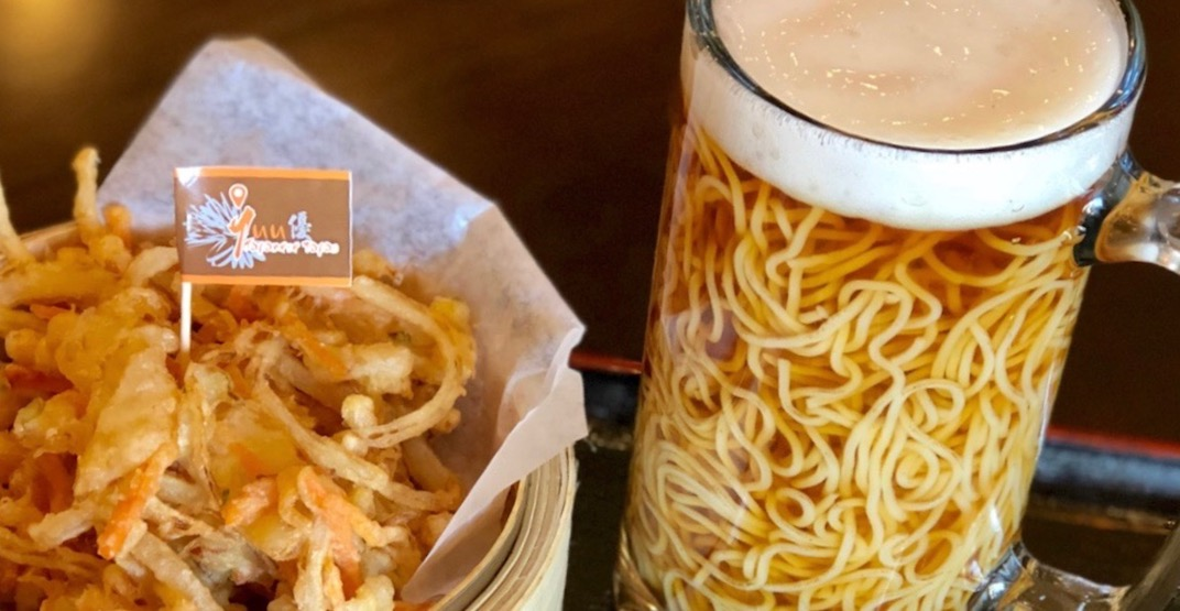 Beer ramen has arrived and you can get it in Metro Vancouver