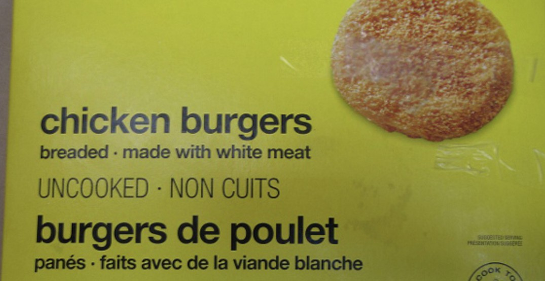 Loblaws recalls No Name brand chicken burgers due to possible salmonella contamination