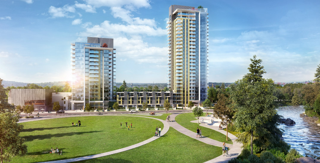 Rendering of towers as seen from seylynn parkhunter