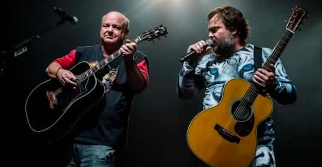 Tenacious D announce they're coming to Calgary in the winter