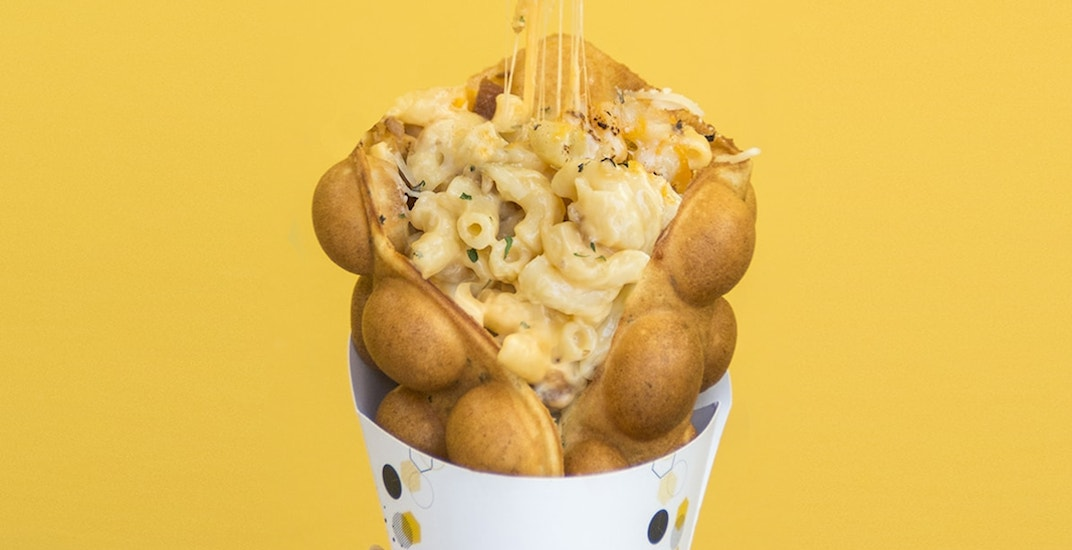 Golden Bubbles mac and cheese cones are coming to Toronto this summer