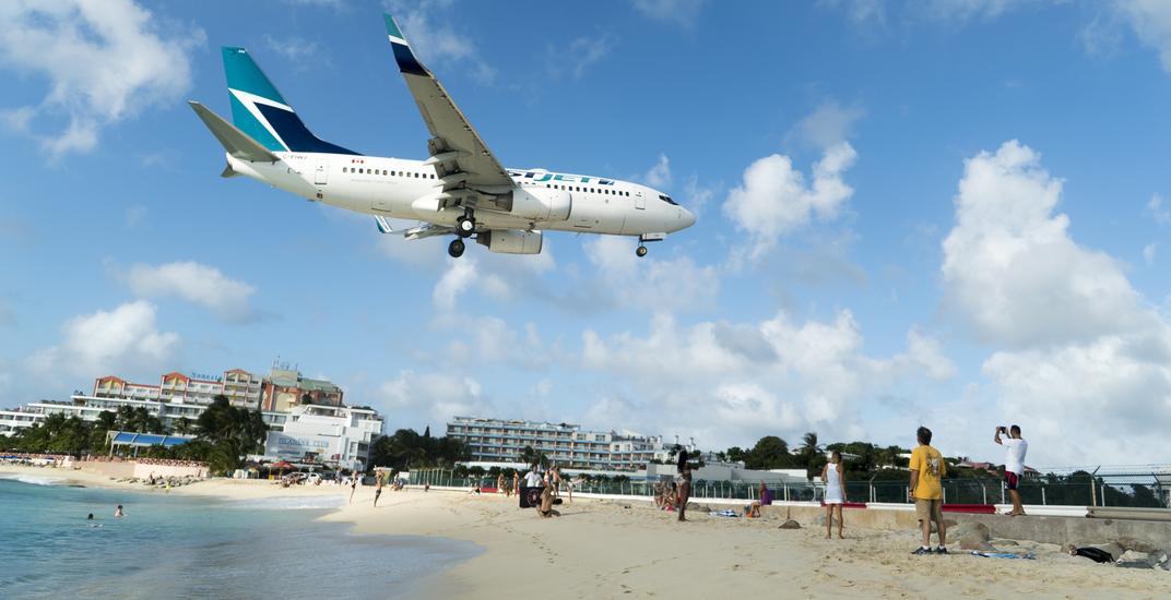 Report confirms WestJet flight to St. Maarten flew too close to water during landing (VIDEO)