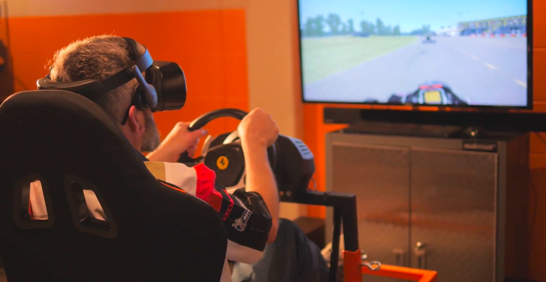 Calgary is home to Canada's largest virtual racing arcade