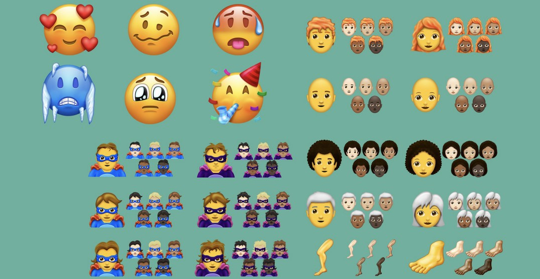 These are the 150 new emojis coming to your devices