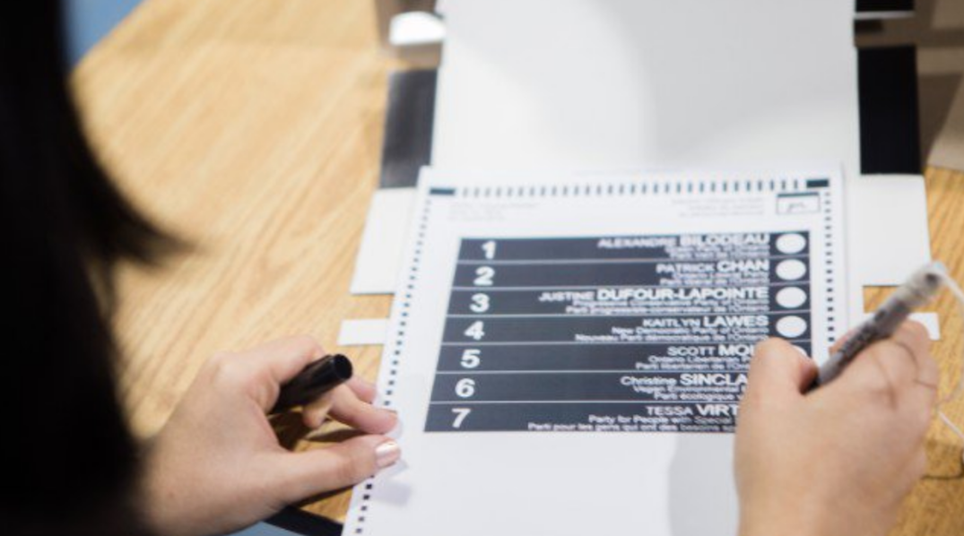 Here's how to vote in Ontario's General Election today