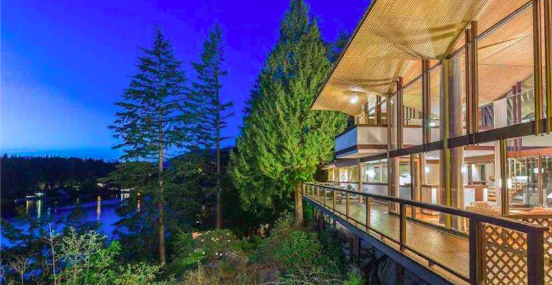 This $7.9 million West Vancouver home is located on a cliff face (PHOTOS)