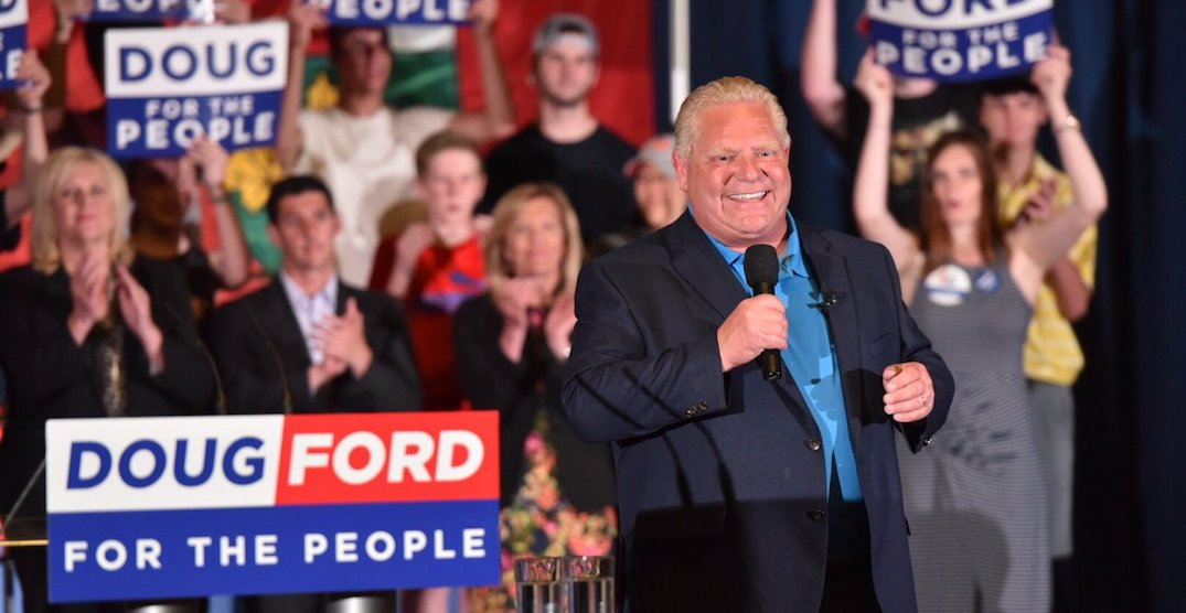 Here's how Ontarians are reacting to Doug Ford being elected Premier