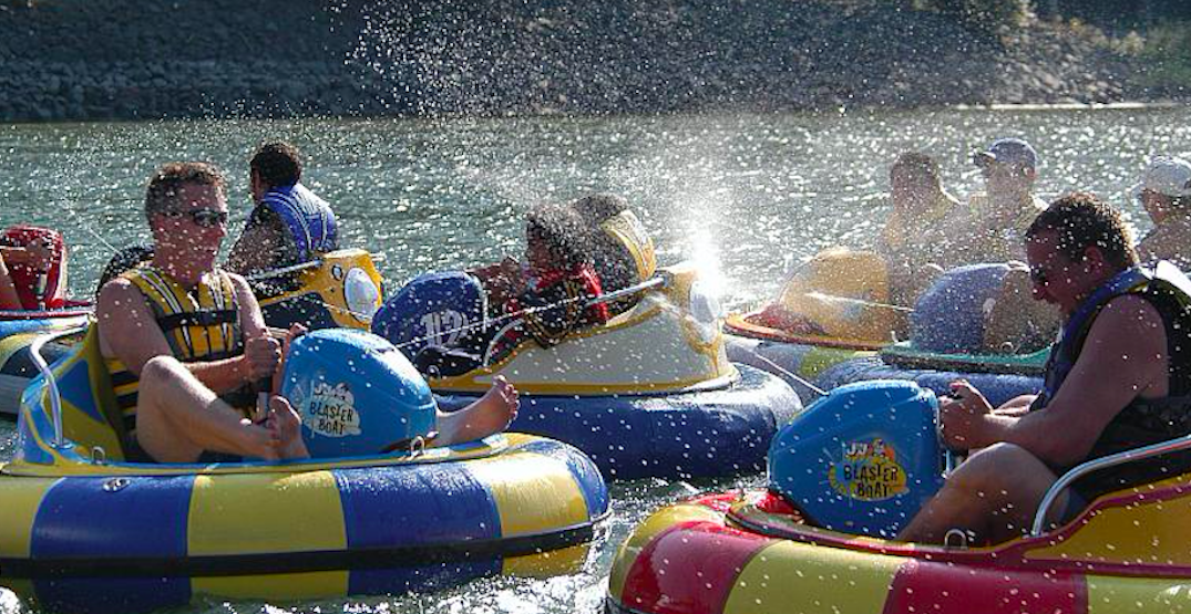 Go bumper boating at this BC lake near Vancouver this summer