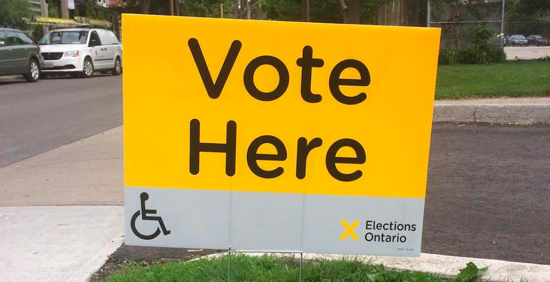 You are legally entitled to take time off work to vote today