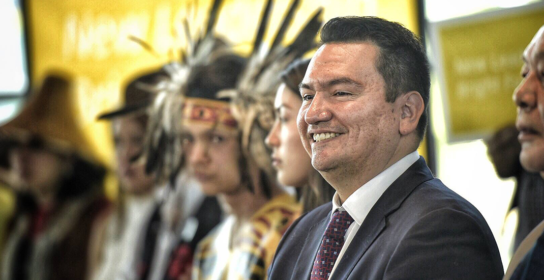 Squamish Nation Chief Ian Campbell named Vision Vancouver mayoral candidate