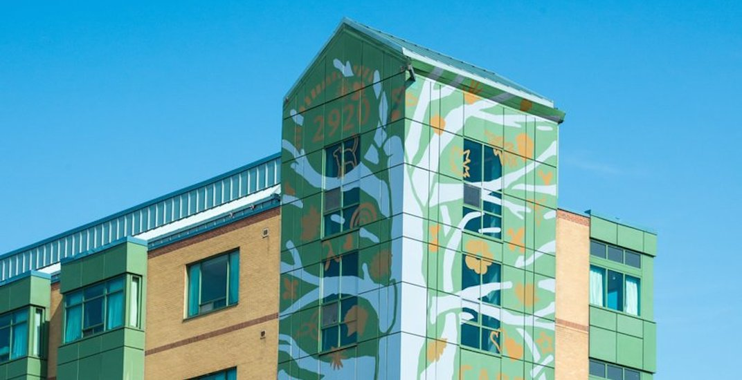 New six-story mural unveiled in Toronto today