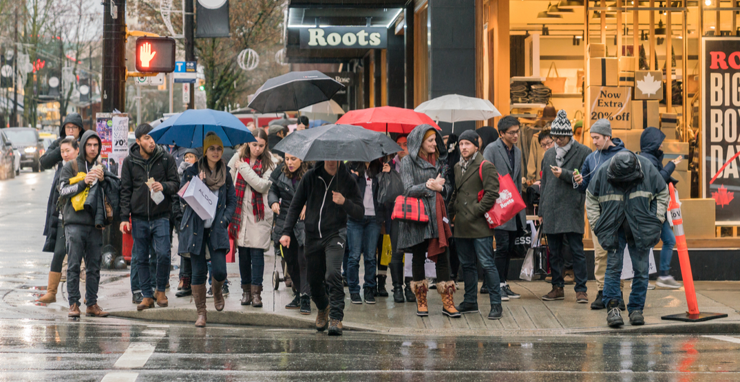 Environment Canada issues special weather statement for Metro Vancouver