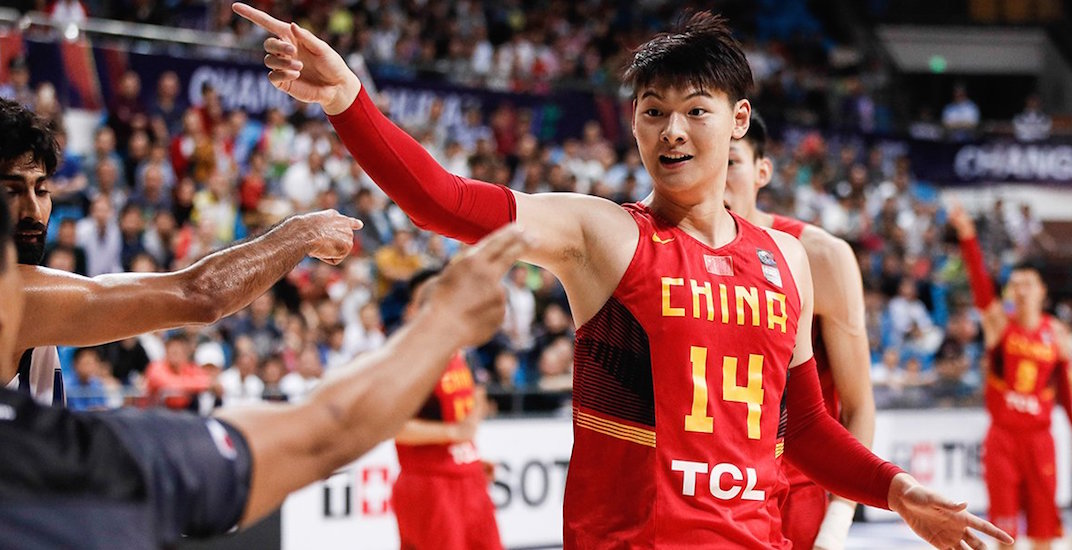 UBC will play Team China in men's basketball this month