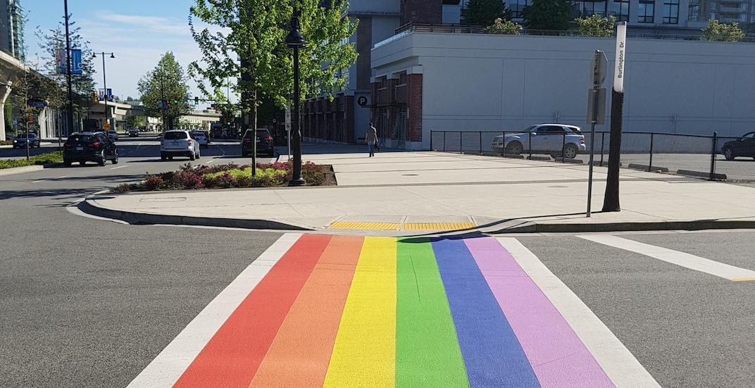 Surrey is getting a rainbow crosswalk to celebrate the LGBTQ community