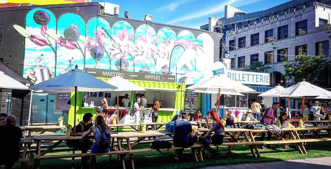 This street-side food festival starts June 11 as part of Mural Fest