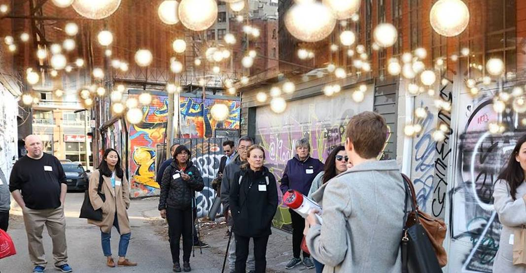 These Toronto laneways are getting lit up this summer
