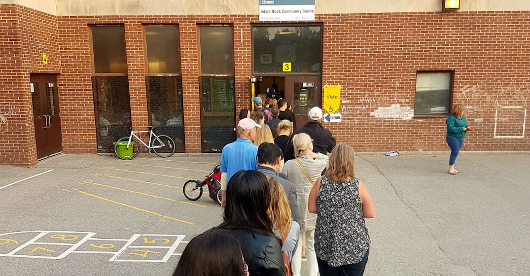 58% of eligible voters cast ballots in Ontario election