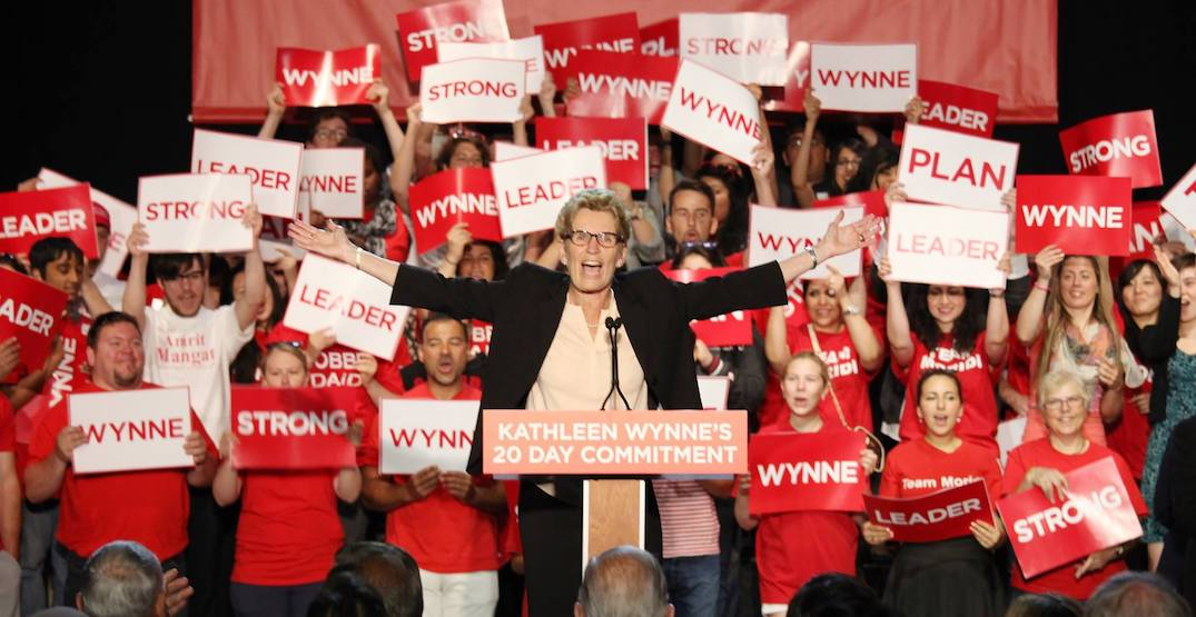 Ontario Liberals lose official party status after winning only 7 seats