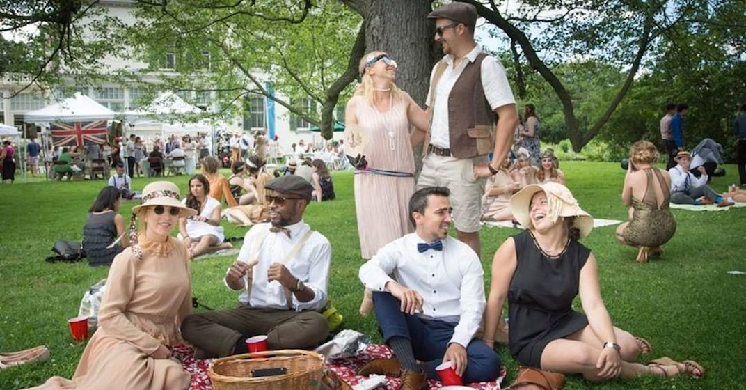 There's a Great Gatsby garden party happening in Toronto this month