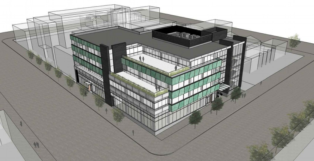 4-storey office and industrial building proposed for Mount Pleasant