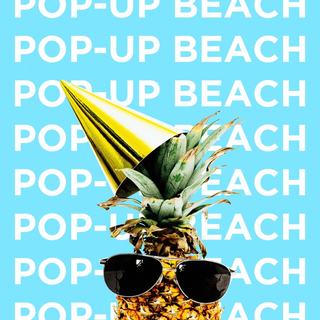 pop-up beach surrey