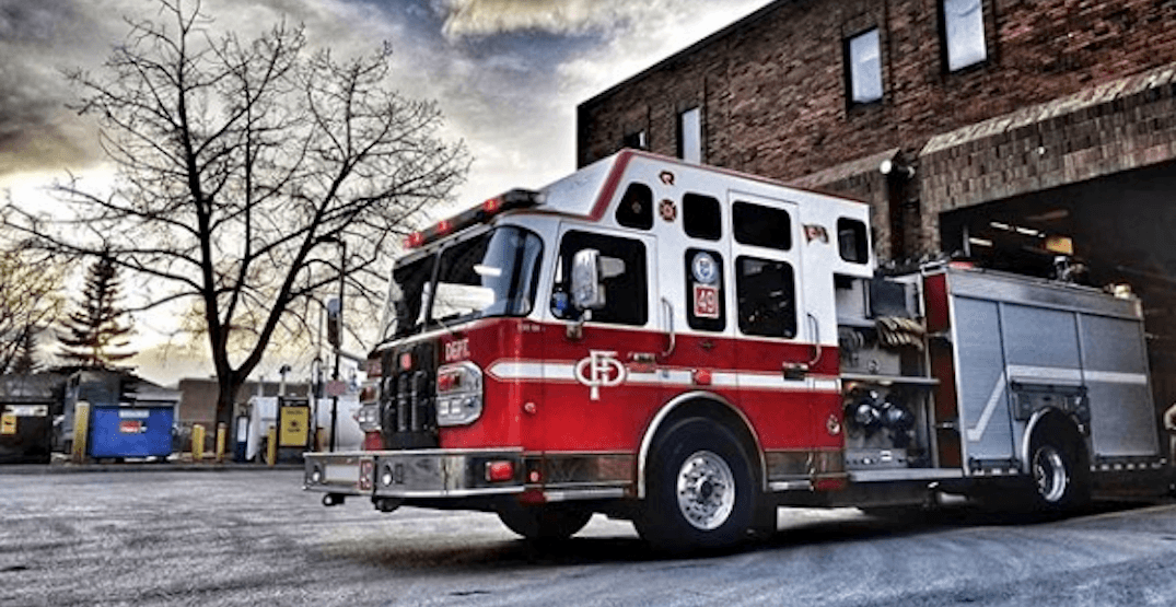 11 people displaced following early morning fire in downtown Calgary