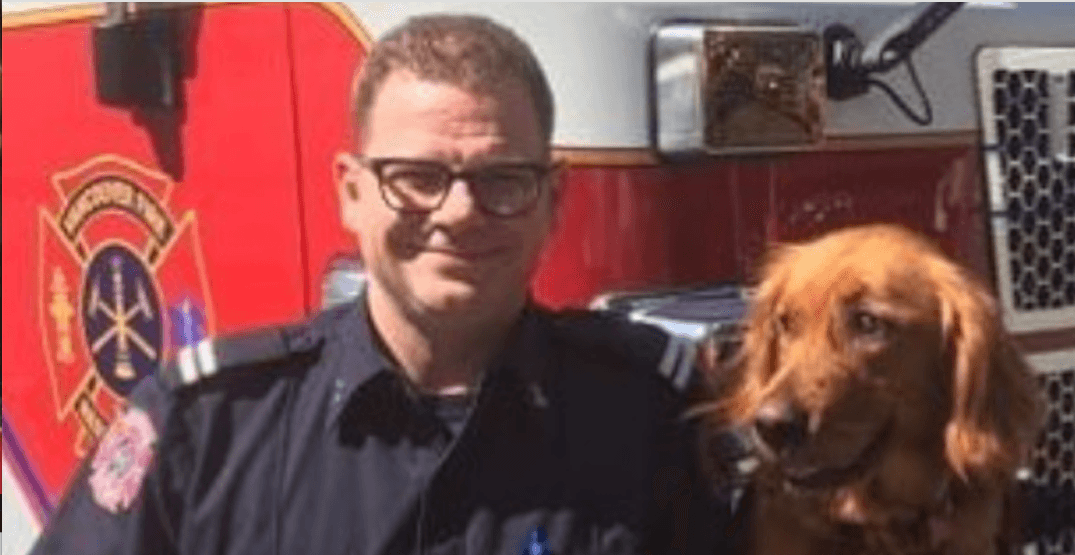 Vancouver Fire Rescue has new 'trauma dog' to help firefighters combat occupational stress (PHOTOS)