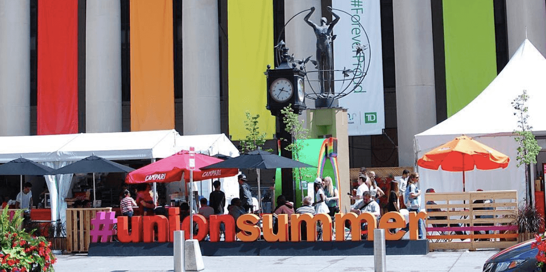 Union Summer market is now on for 50 consecutive days in Toronto